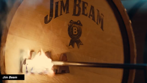 Jim Beam Whiskey Barrel