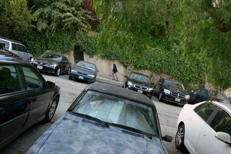Street parking in San Francisco