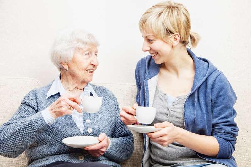 Conversation with grandparent