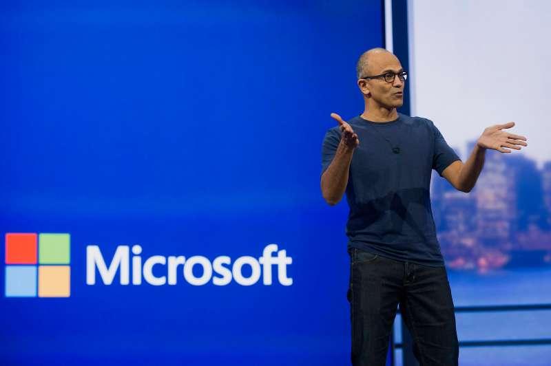 Satya Nadella, chief executive officer at Microsoft Corp