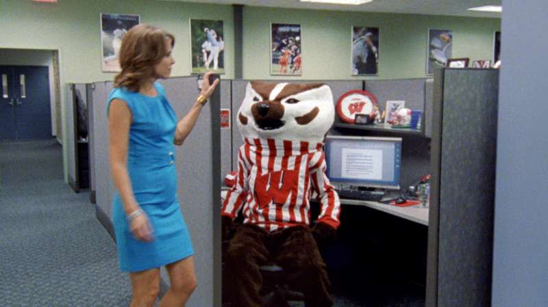ESPN  This is SportsCenter  campaign with Bucky the Badger, the official mascot of the University of Wisconsin–Madison, by Wieden+Kennedy.