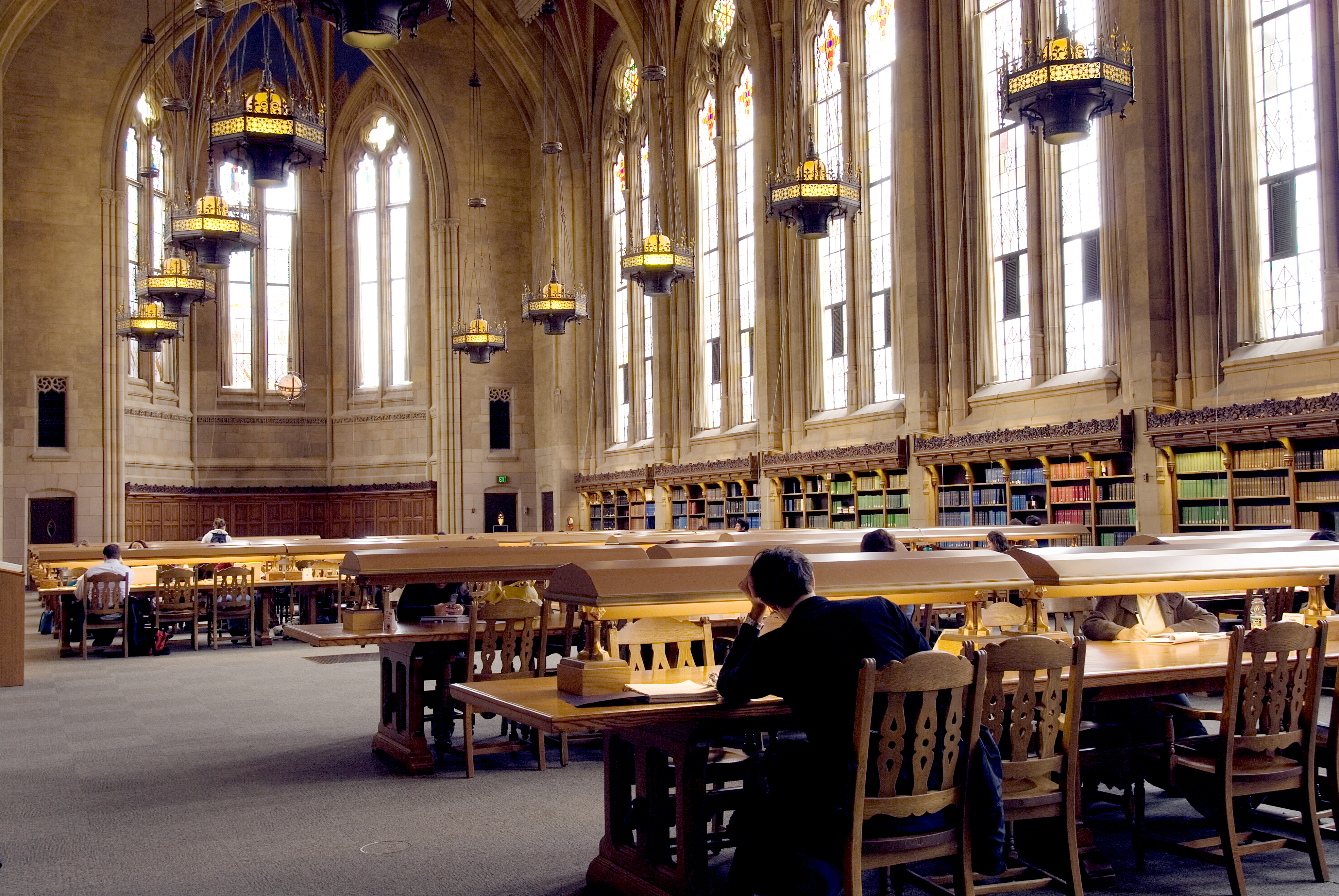 Suzzallo Library interior, University of Washington