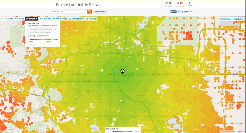 Trulia's heat maps are a huge competitive advantage.