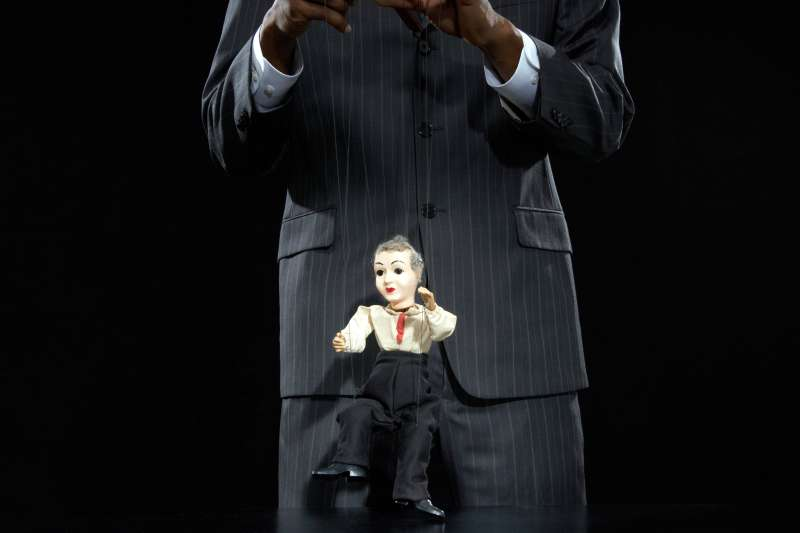 Micromanaging boss puppeteer