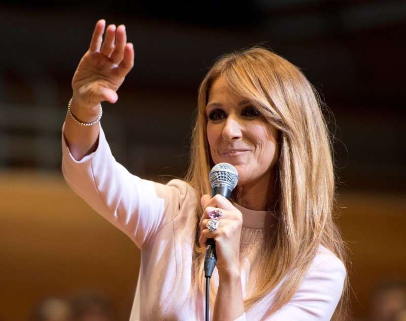 Celine Dion takes a break from touring to care for her husband, who is battling cancer.