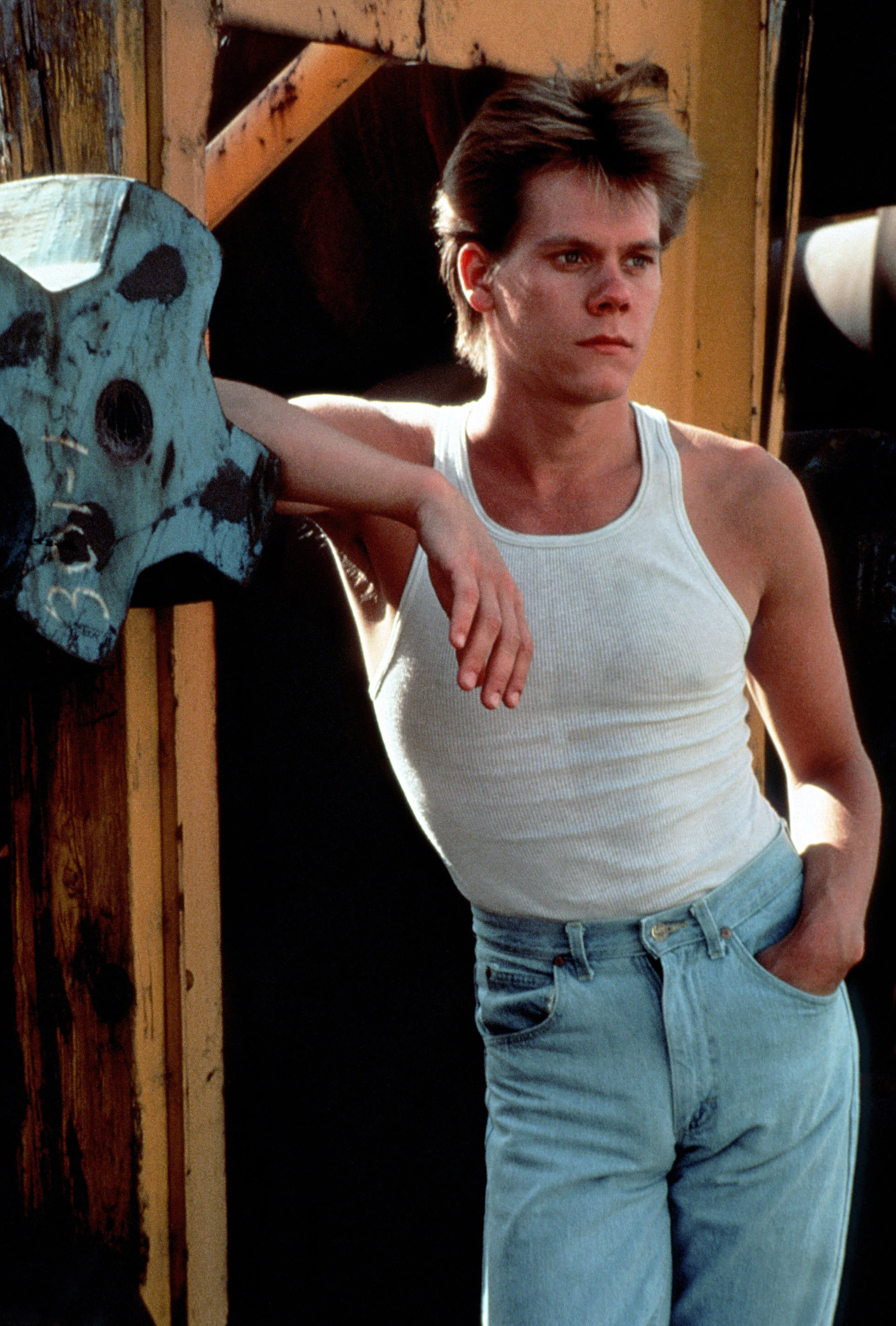 The 1980s: A footloose Kevin Bacon dances in his...