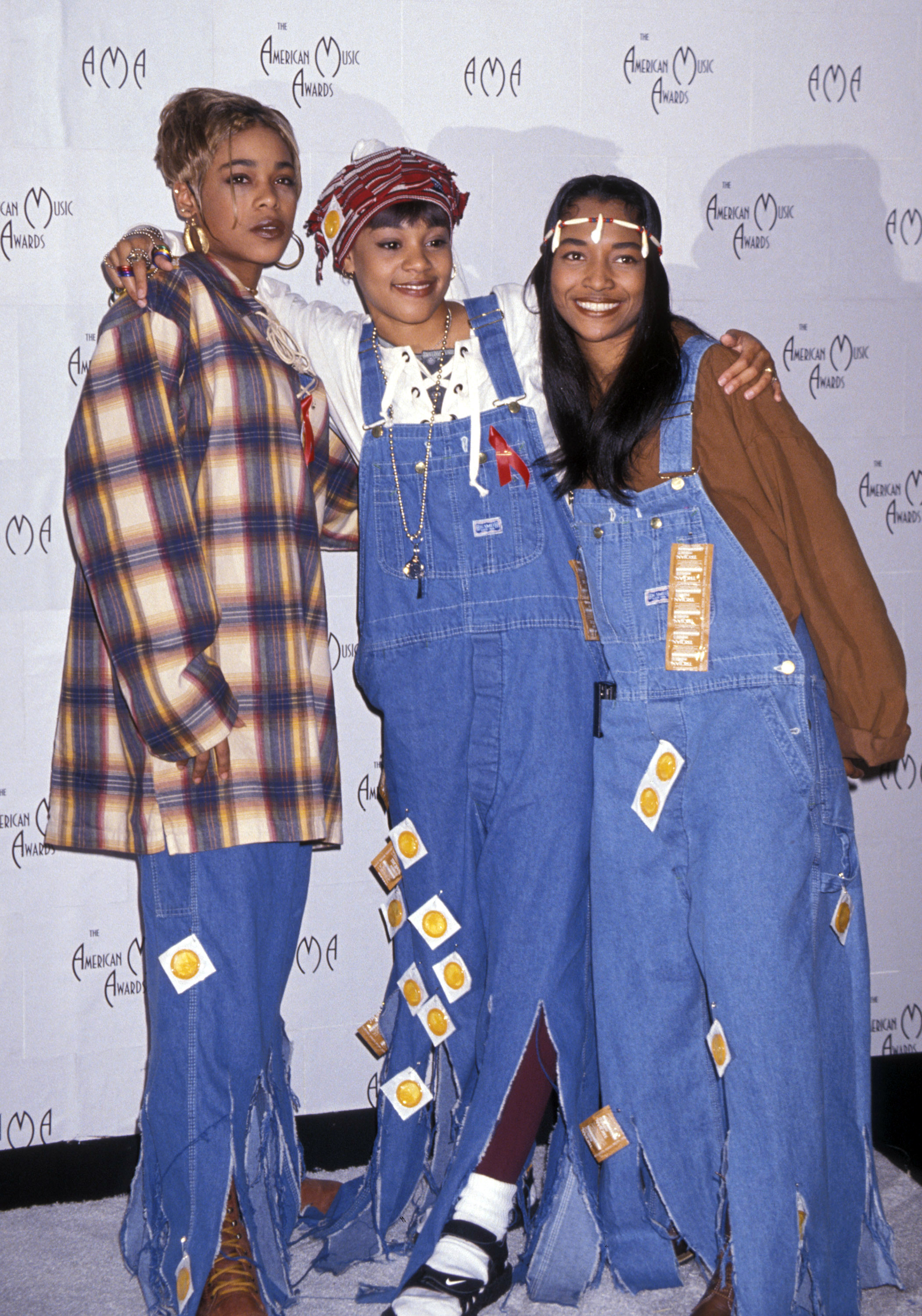 The 1990s: And TLC sings in theirs.
