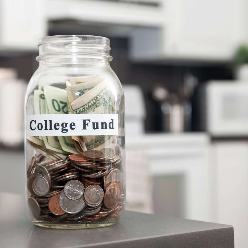 College tuition jar