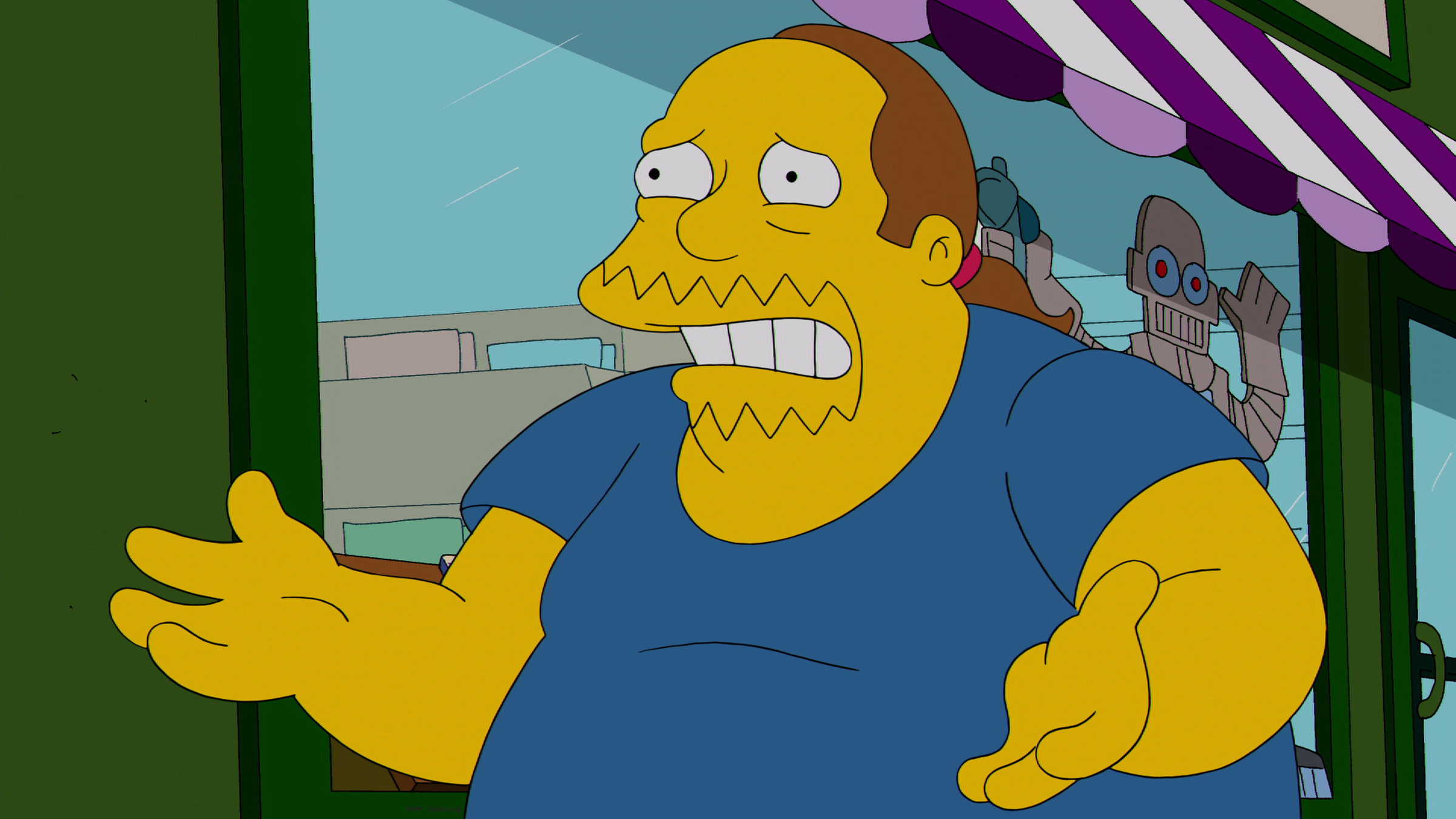 Comic Book Guy on THE SIMPSONS