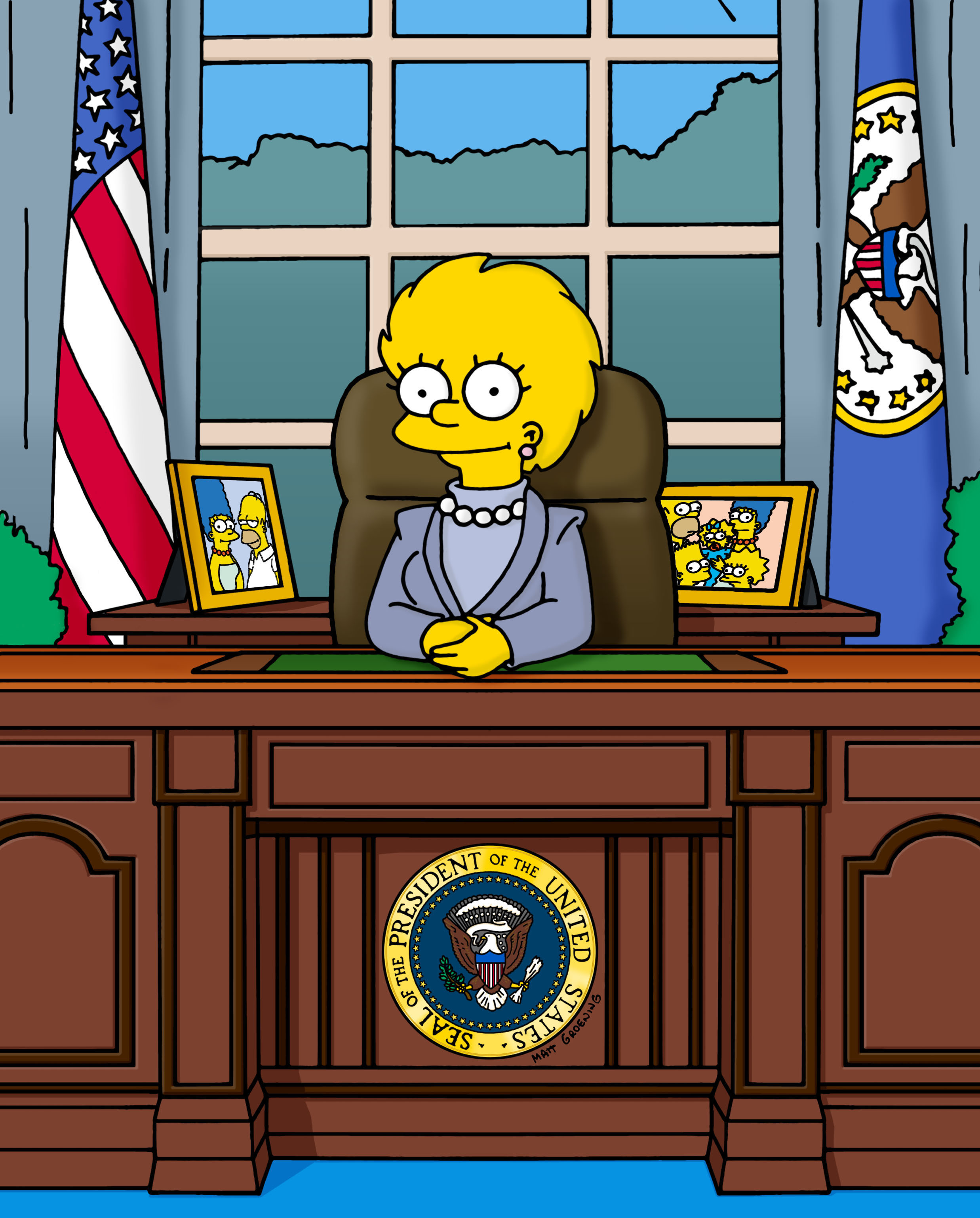 Lisa Simpson on THE SIMPSONS