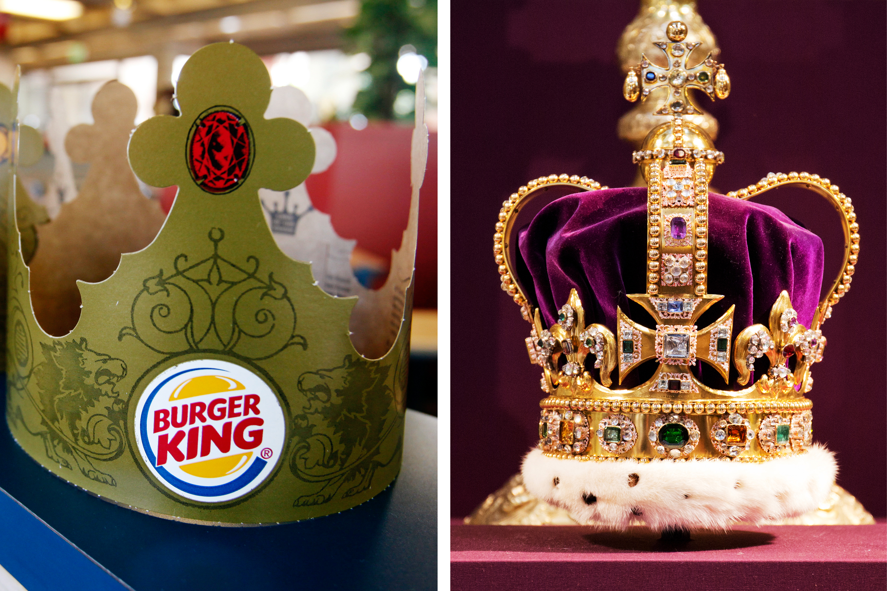 GOING ROYAL                                                                                      The King becomes the subject of a company in an actual Kingdom in 1988, when UK-based Grand Metropolitan PLC acquired Pillsbury—including Burger King—for $5.8 billion.