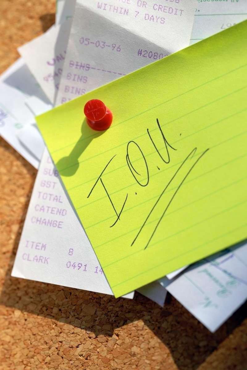 IOU note