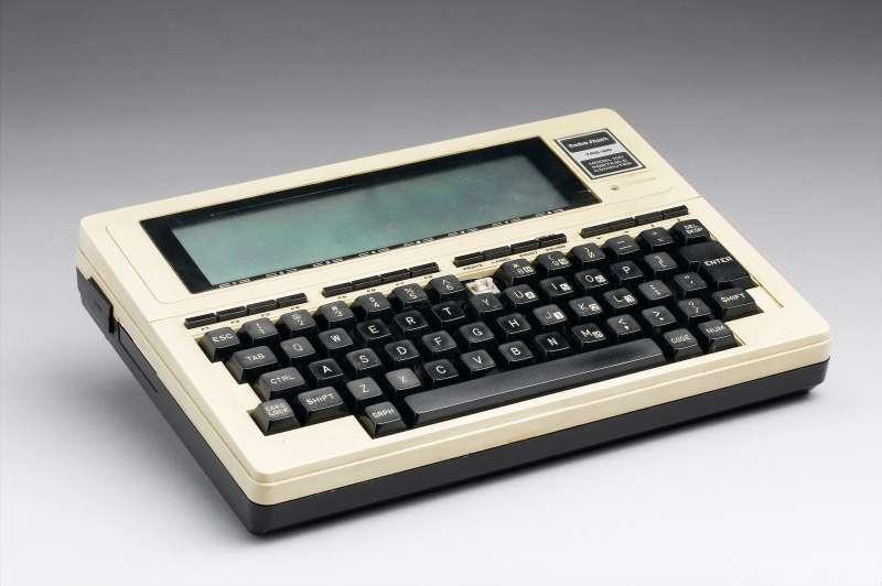 Tandy Radio Shack portable computer, 1983.