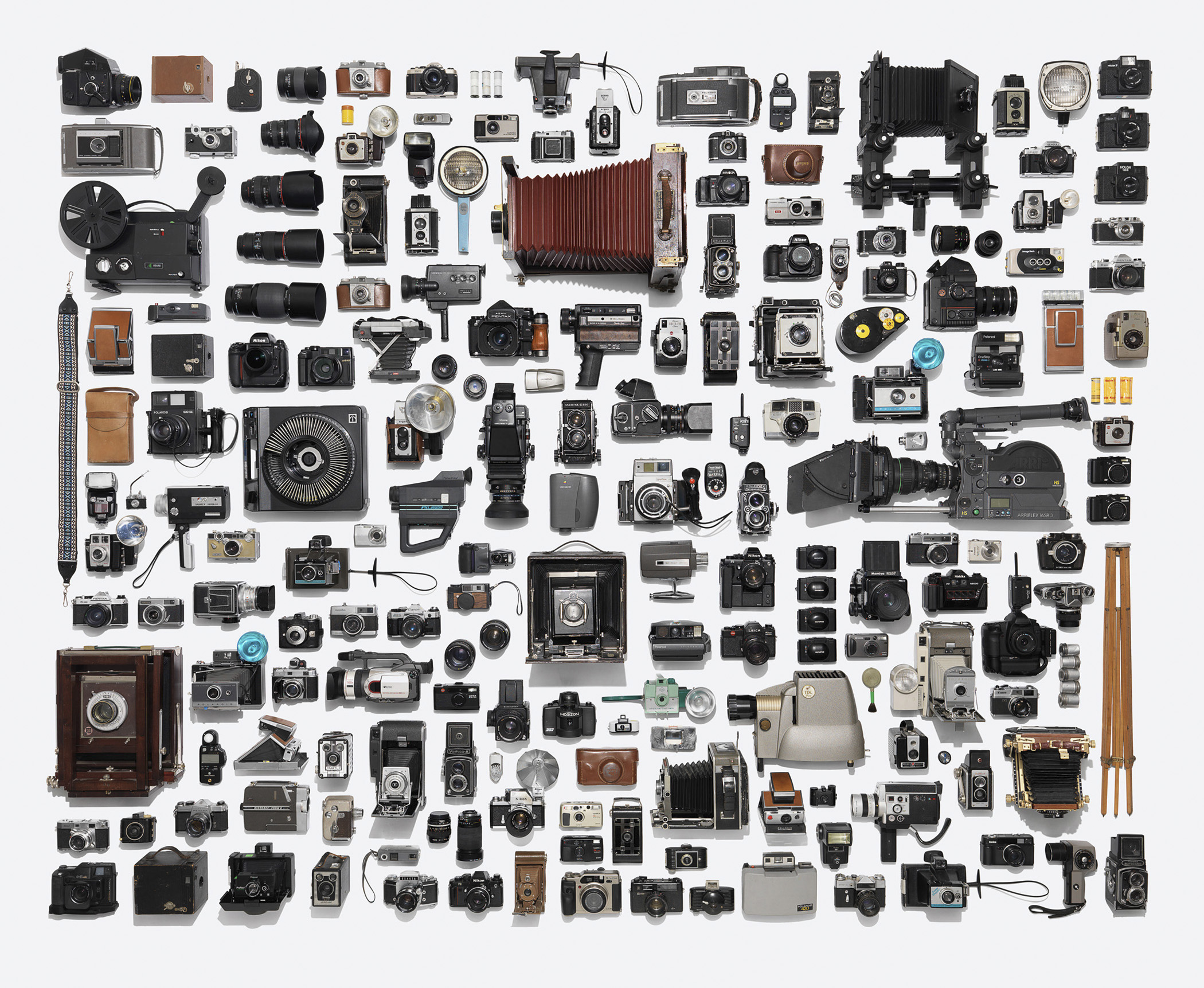 """Camera Collection. 1950 List Price of Rolleiflex: $275, per <a href=""""http://books.google.com/books?id=_l0zAQAAMAAJ&amp;pg=PA126&amp;dq=twin-lens+reflex+rolleiflex+camera+original+price&amp;hl=en&amp;sa=X&amp;ei=k1scVLanH5CsyASbgIKoCQ&amp;ved=0CDoQ6AEwAQ#v=onepage&amp;q=twin-lens%20reflex%20rolleiflex%20camera%20original%20price&amp;f=false"""" title=""""Popular Photography"""" target=""""_blank"""">Popular Photography</a>.  <strong>Today's equivalent:</strong> Canon EOS 5D Mark III. List Price: $3,399, available at <a href=""""http://www.usa.canon.com/cusa/consumer/products/cameras/slr_cameras/eos_5d_mark_iii"""" title=""""Canon EOS 5D Mark III"""" target=""""_blank"""">Canon U.S.A</a>."""