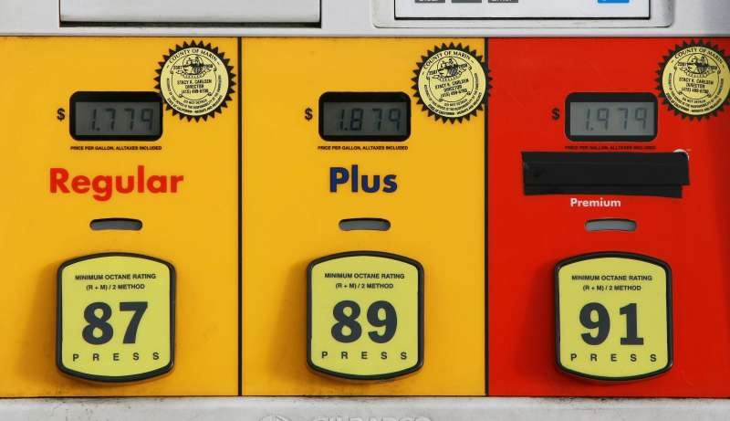 Prices of gas