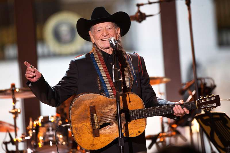 """Singer Willie Nelson performs during an """"In Performance at the White House"""" series event"""