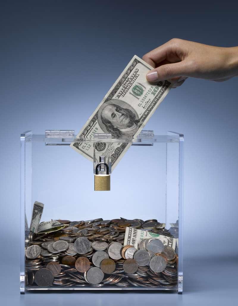 donating money to box