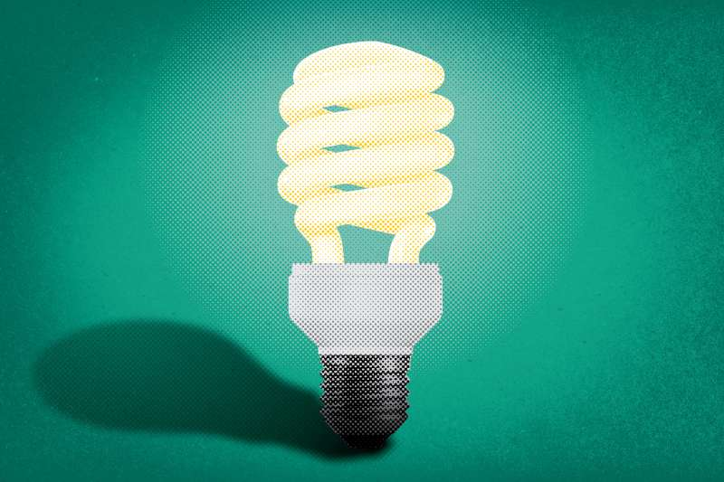 Energy-saving lightbulb
