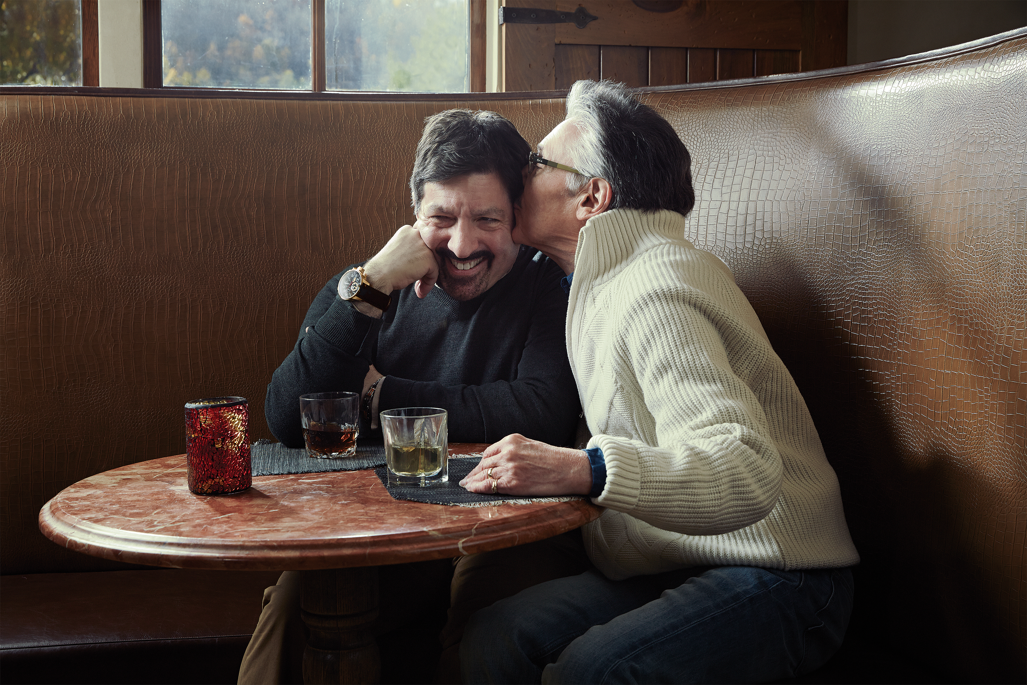 Mark Quiello, 59, and Steven Rabinowitz, 69. Together for three decades, the two men finally married last year when their home state, New Jersey, legalized gay marriage. Until then, says Quiello,  financial planning was a constant challenge. Everything is easier now.