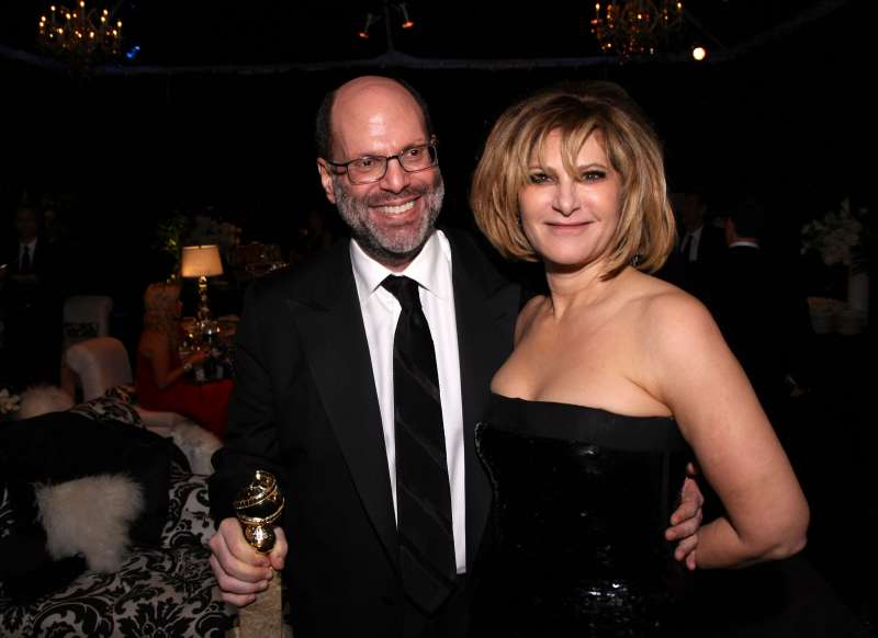Producer Scott Rudin and Sony Pictures Entertainment Co-Chairman Amy Pascal attend the Sony Pictures Classic 68th Annual Golden Globe Awards Party held at The Beverly Hilton hotel on January 16, 2011 in Beverly Hills, California.