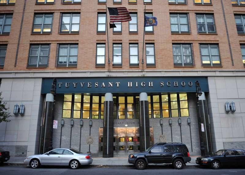 Stuyvesant High School at 345 Chamers Street, Manhattan, N.Y.