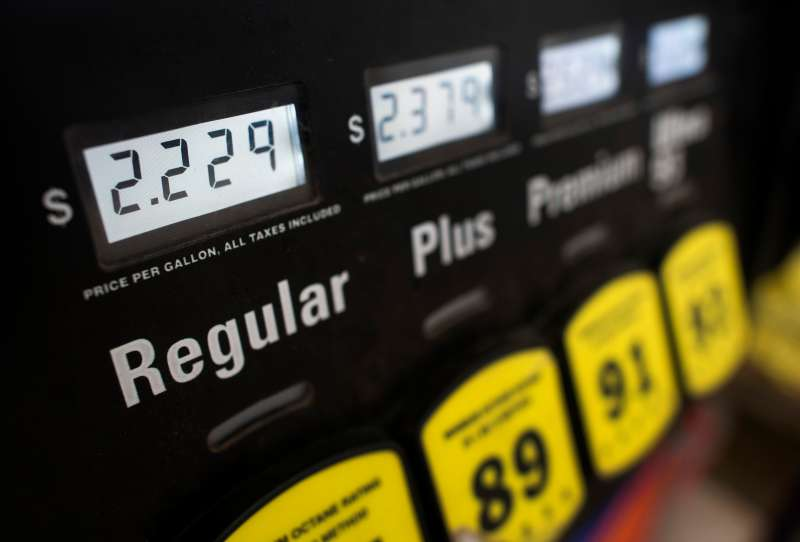 A Sunoco Inc. Fueling Station As Gas Is Surprise Holiday Gift For U.S. Consumers This Year