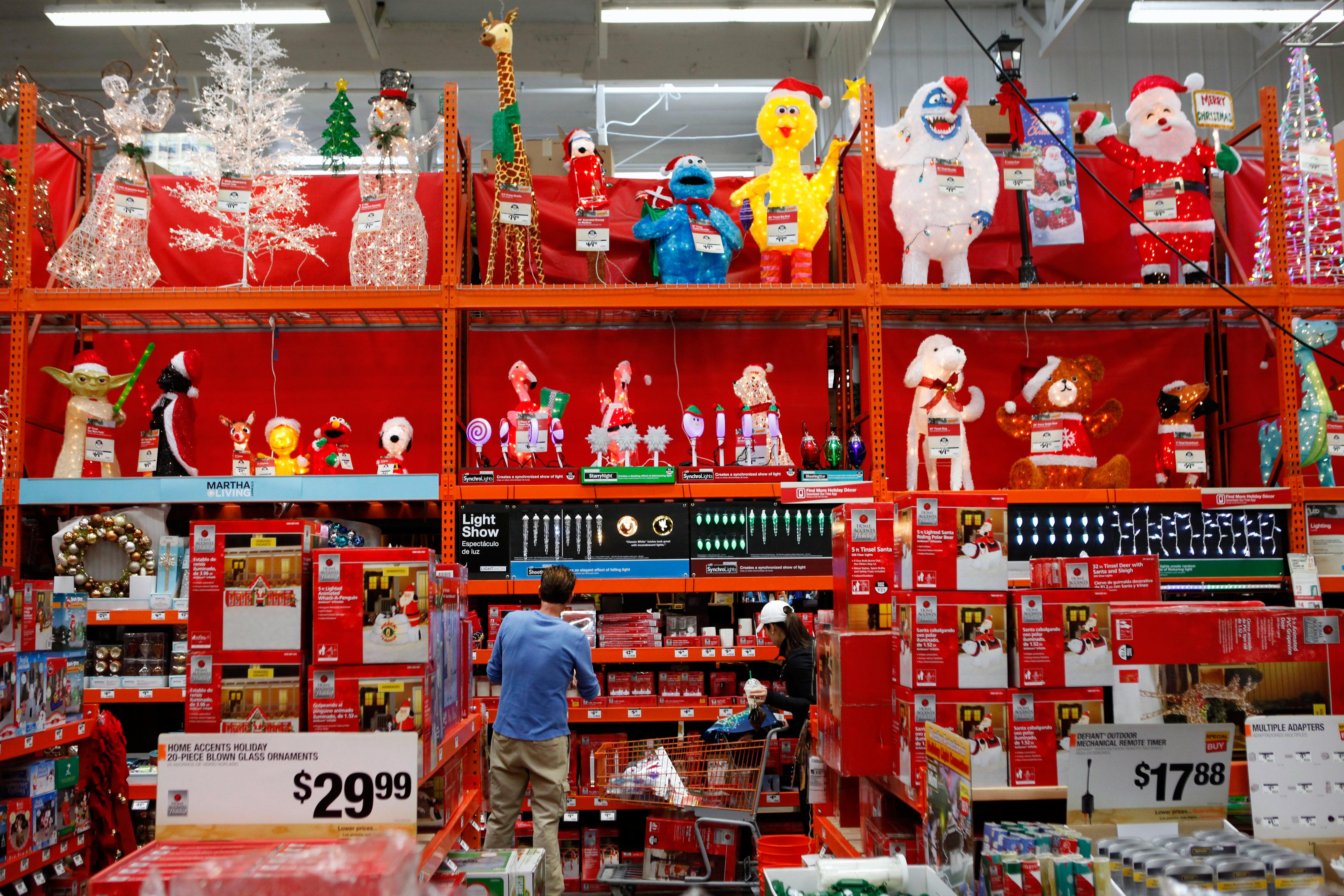 Post Christmas Decorations Deals at Home Depot, Walmart, Target ...