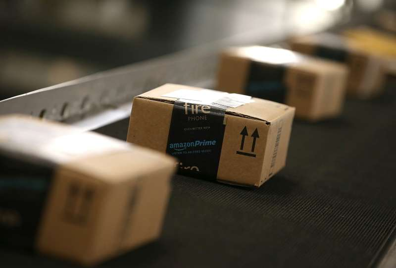 Amazon Prime packages