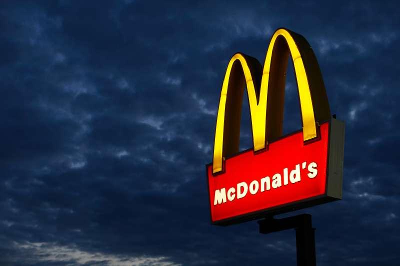 A McDonald's restaurant in Encinitas, California.