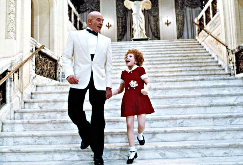 movie still from Annie