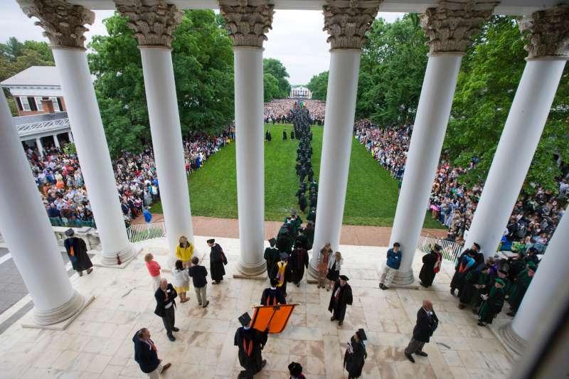 Final exercises, University of Virginia