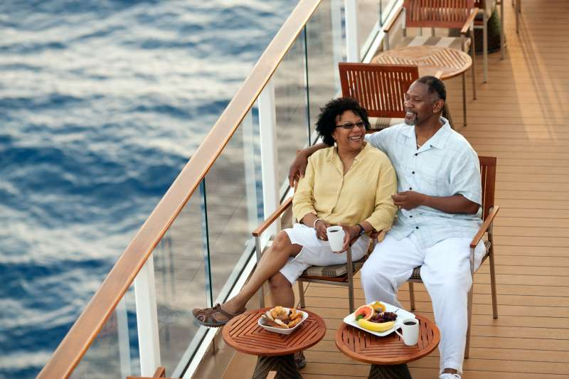 couple on deck of boat
