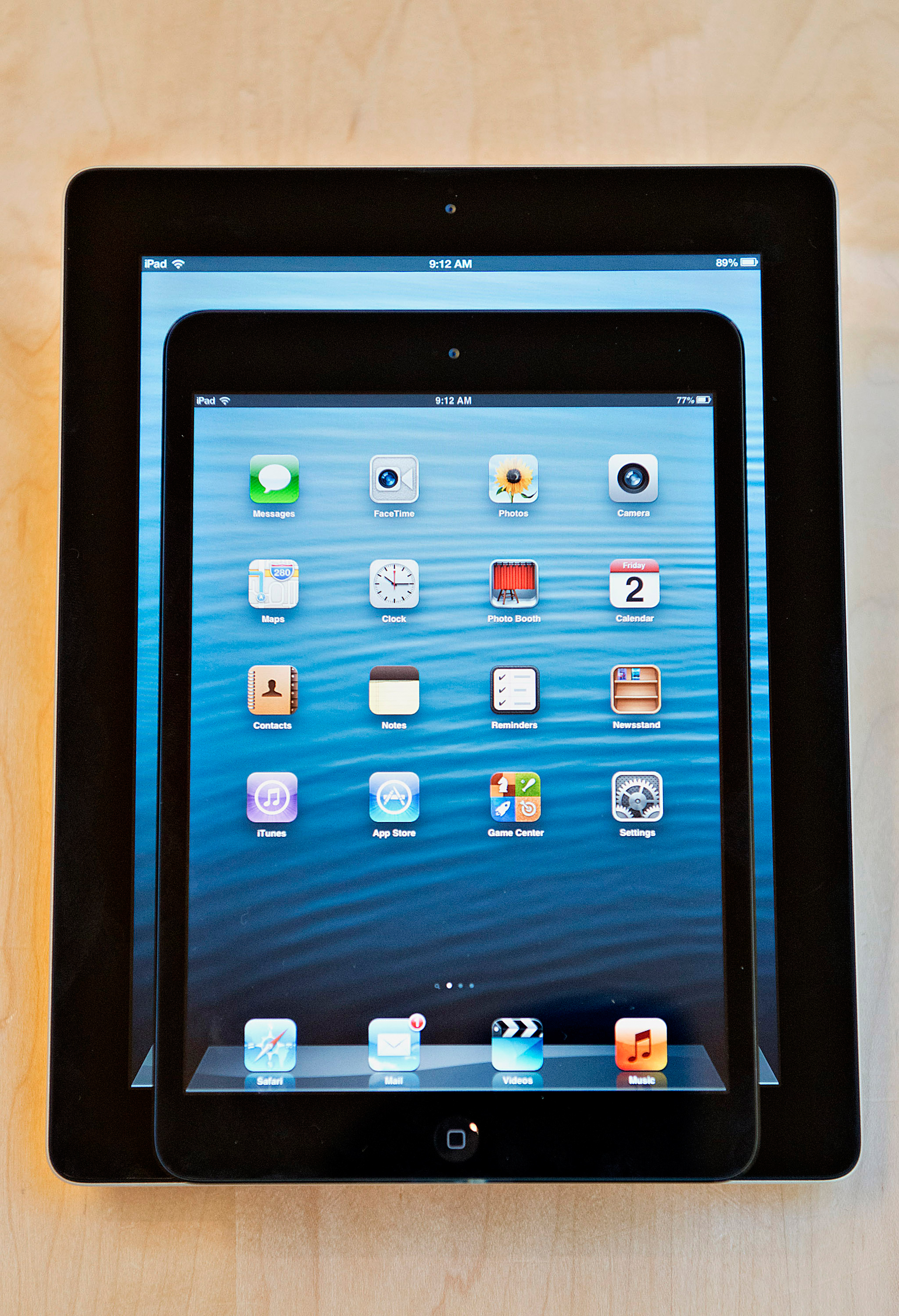 The iPad Mini, sporting a smaller 7.9 inch screen, hit store shelves on November 2, 2012. The new device cost $329.