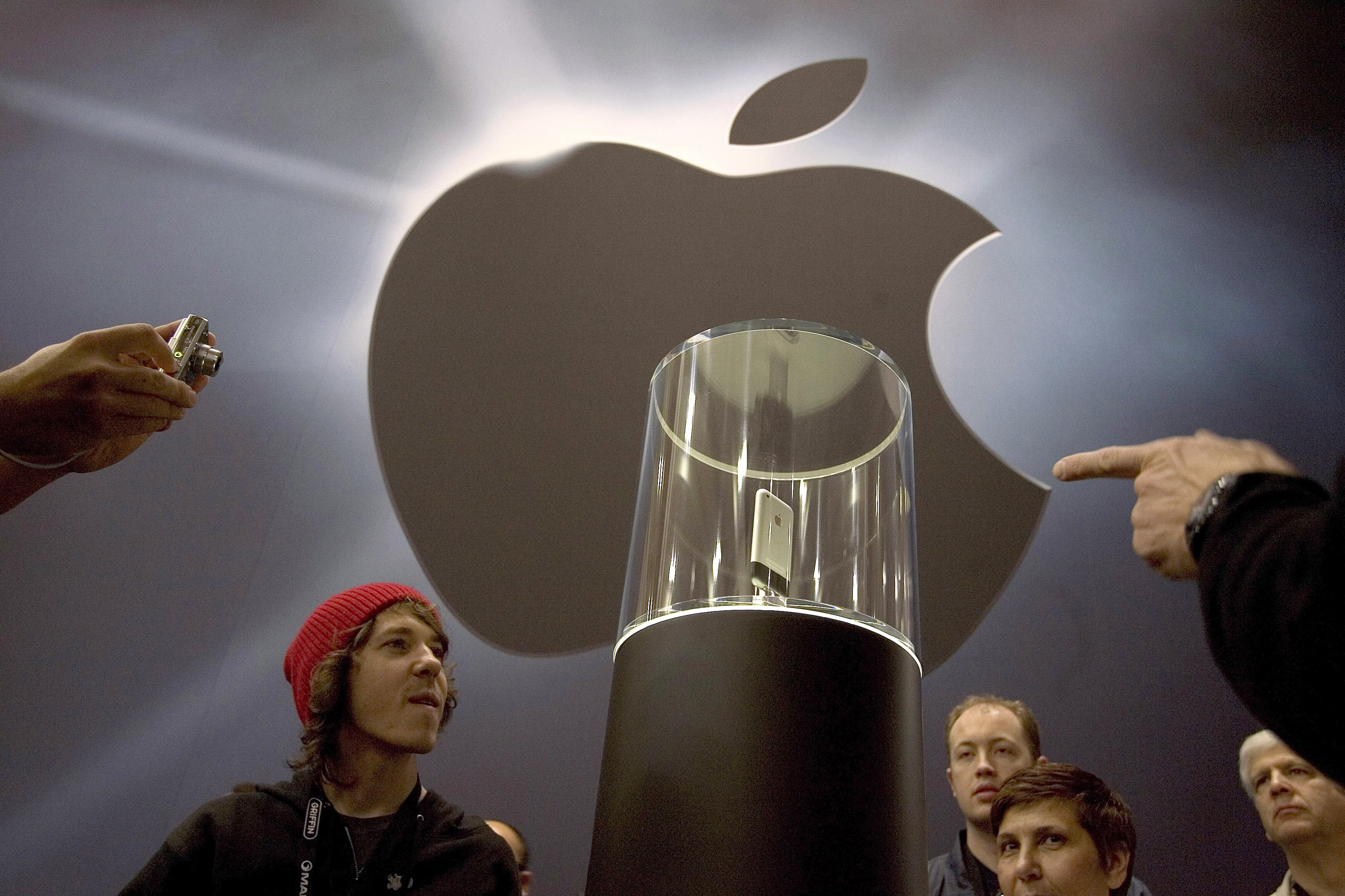 Apple released the first iPhone on June 29, 2007. An 8GB model launched with a price point of $599.