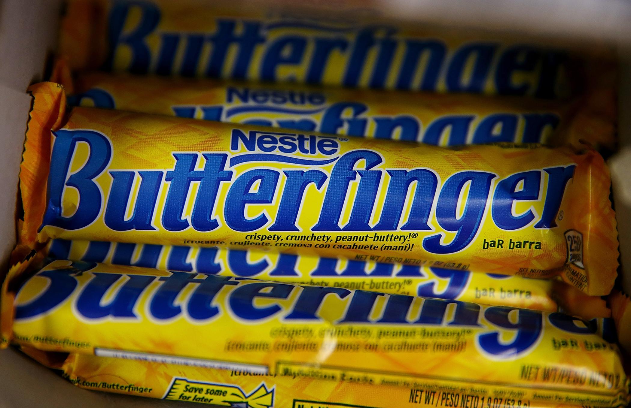Nestle Butterfinger candy bars