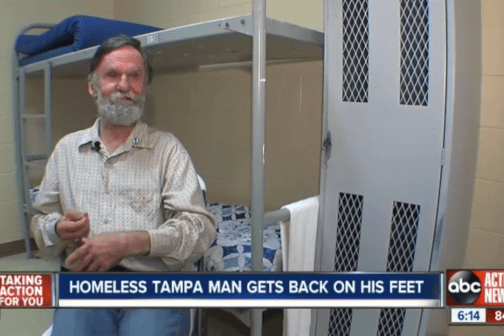 Homeless Man Discovers Long-Lost Bank Account