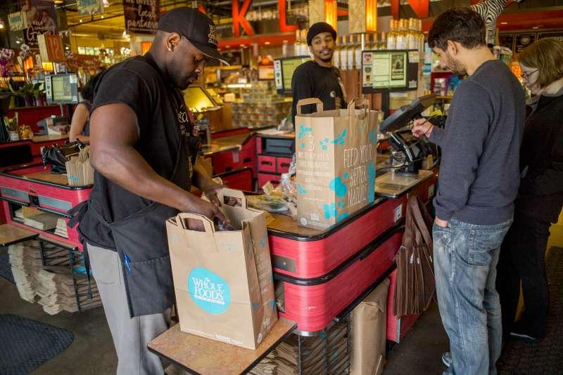 Whole Foods Market Inc. store, Oakland, California