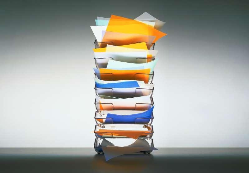 vertical filing system