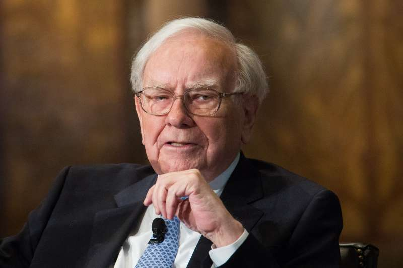 Warren Buffett And BofA CEO Brian Moynihan Speak At Georgetown University