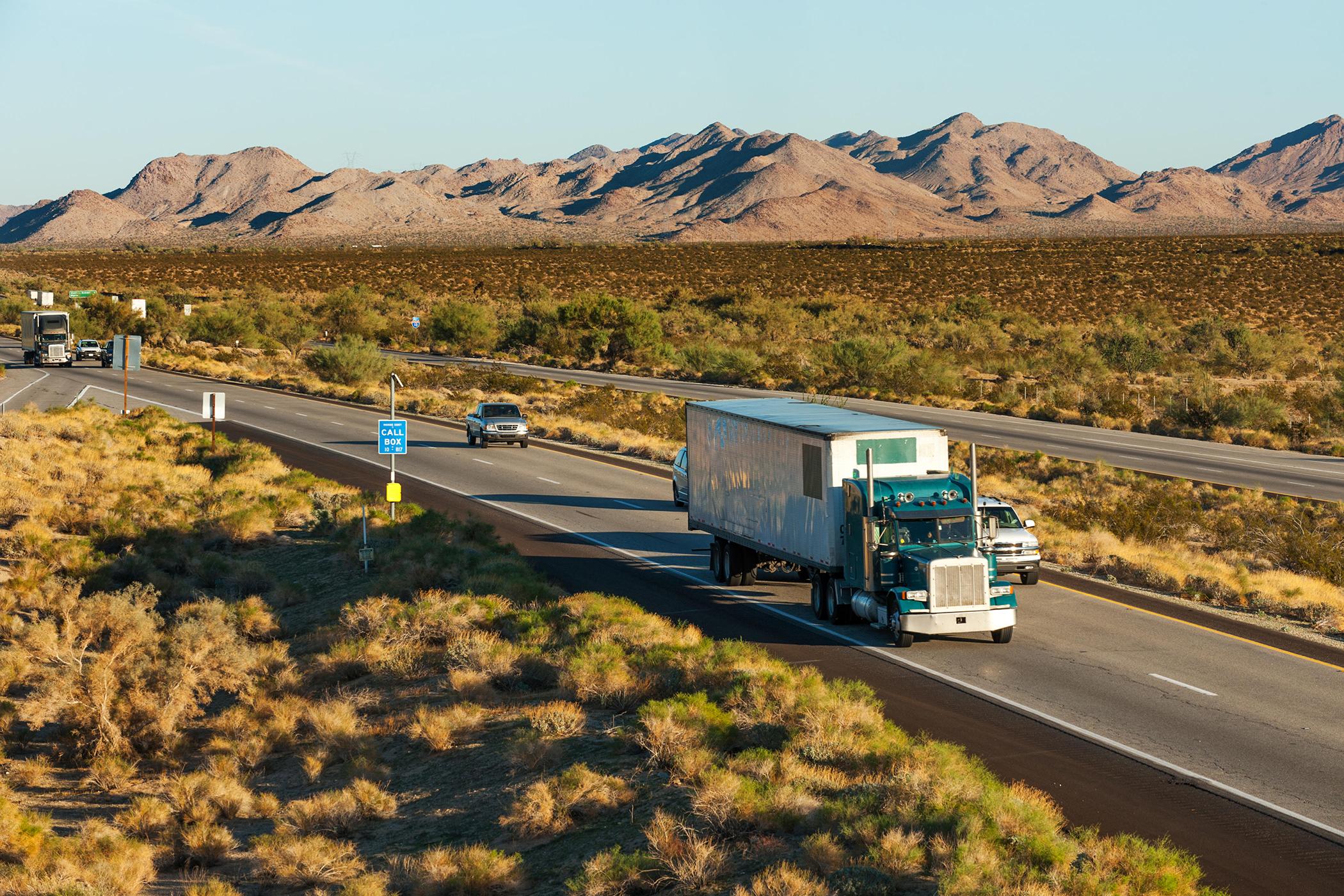 Interstate I-10, Arizona