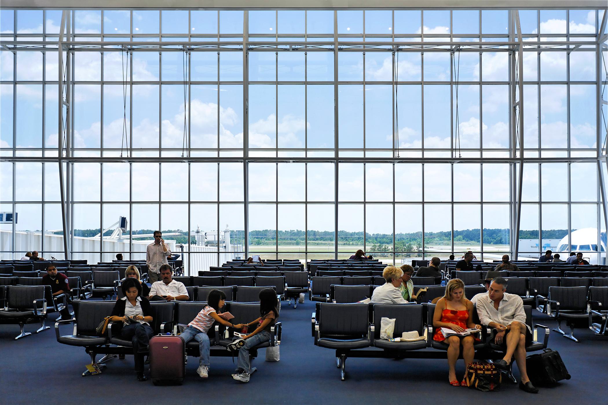 George W. Bush International Airport, Houston, Texas, USA