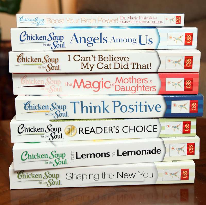 Books in the Chicken Soup for the Soul series