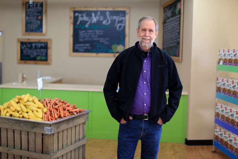 Doug Rauch has brought The Daily Table a non-profit grocery store to Dorchester. The store will offer produce, nutritious pre-made meals, and other groceries.
