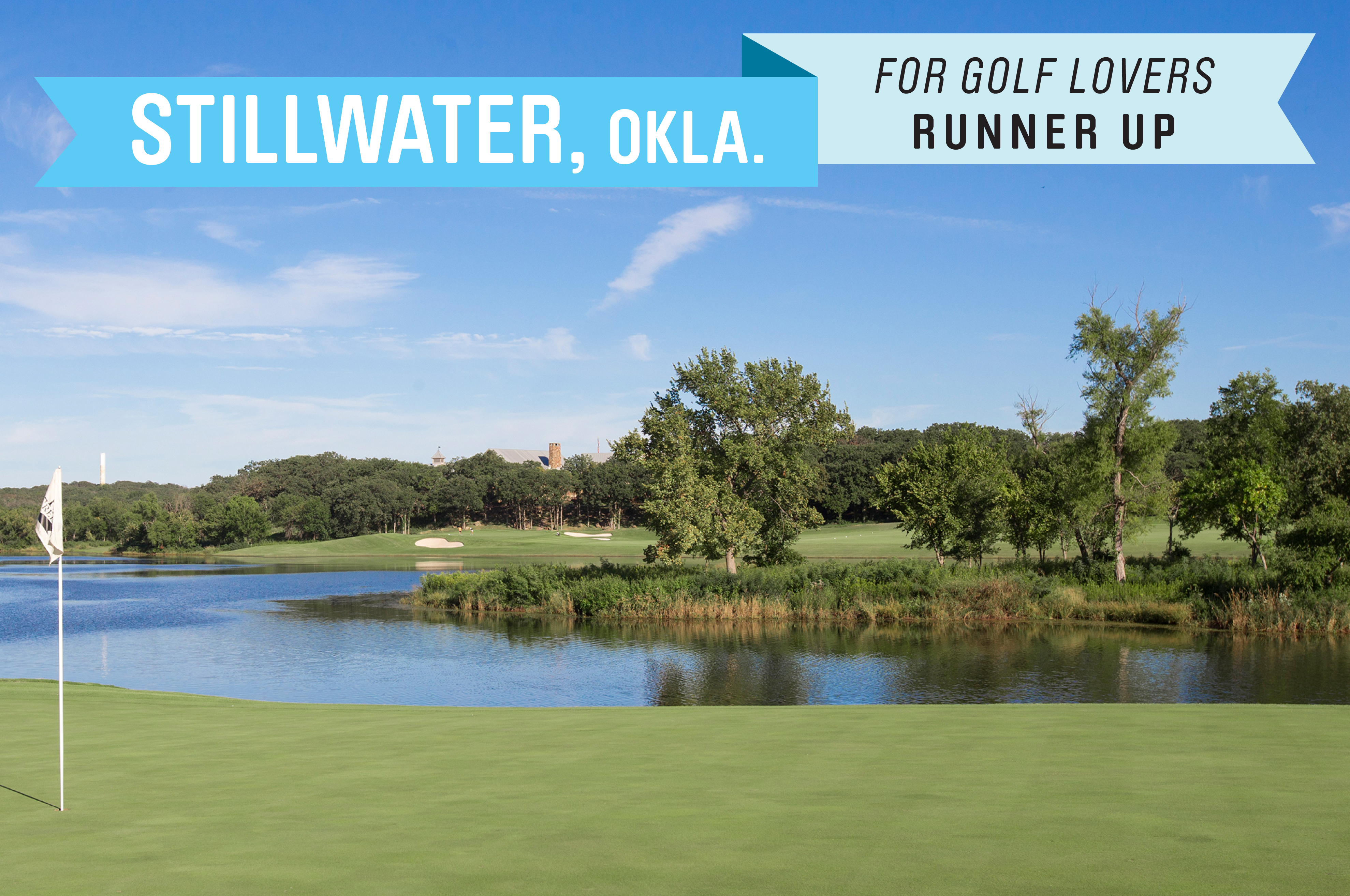 Home to Oklahoma State University, which has been called the University of Golf. The college team's home course is at the Karsten Creek Golf Club, which regularly appears on lists of the best golf courses in the U.S.  There are several top public courses, including The Links at Stillwater and Lakeside Memorial. The median home price is $136,000.