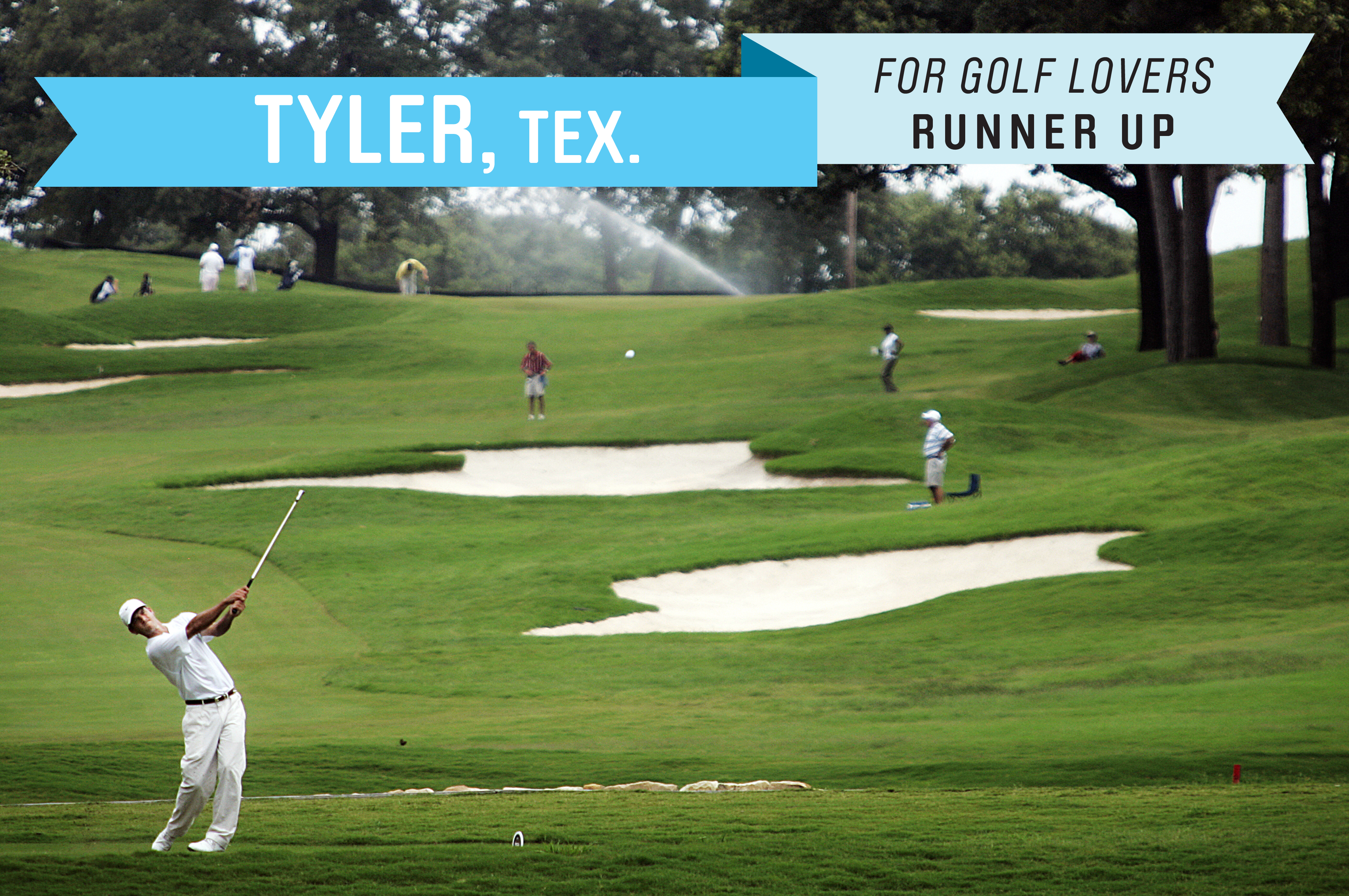 This East Texas town is certified by the state as a retirement community (because it meets key criteria attractive to retirees). Tyler has a low cost of living (98 compared to 100 for the national median) , no state income tax and well-regarded public courses such as Pine Springs Golf Club, which was renovated in 2010.