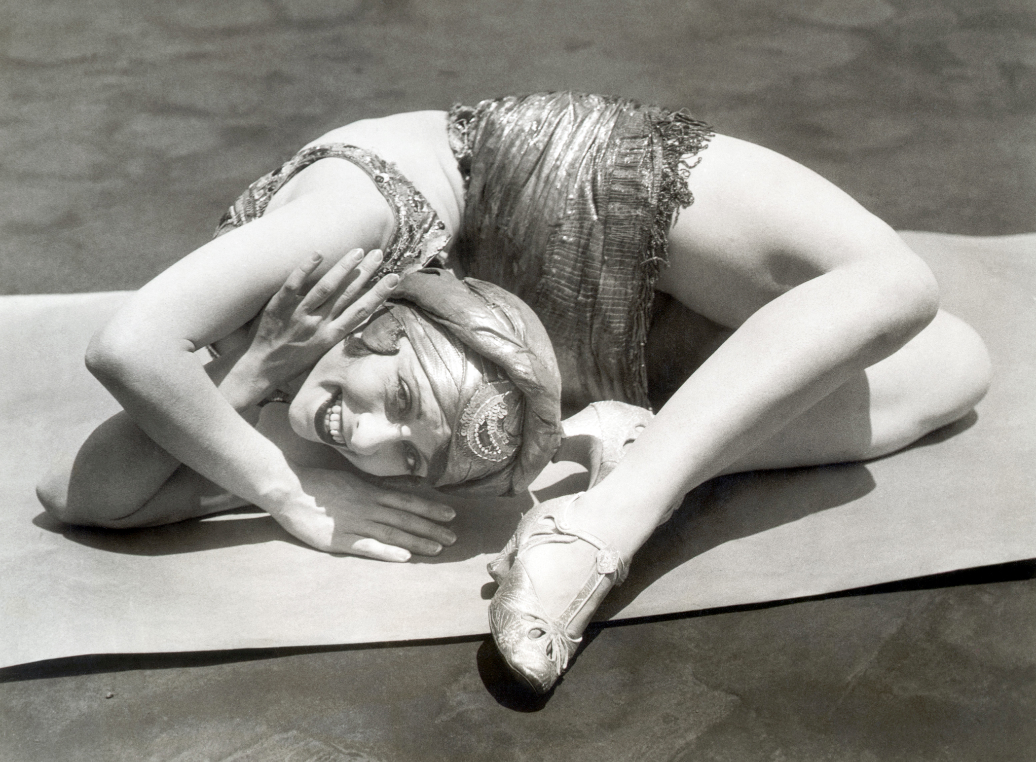 circus contortionist woman