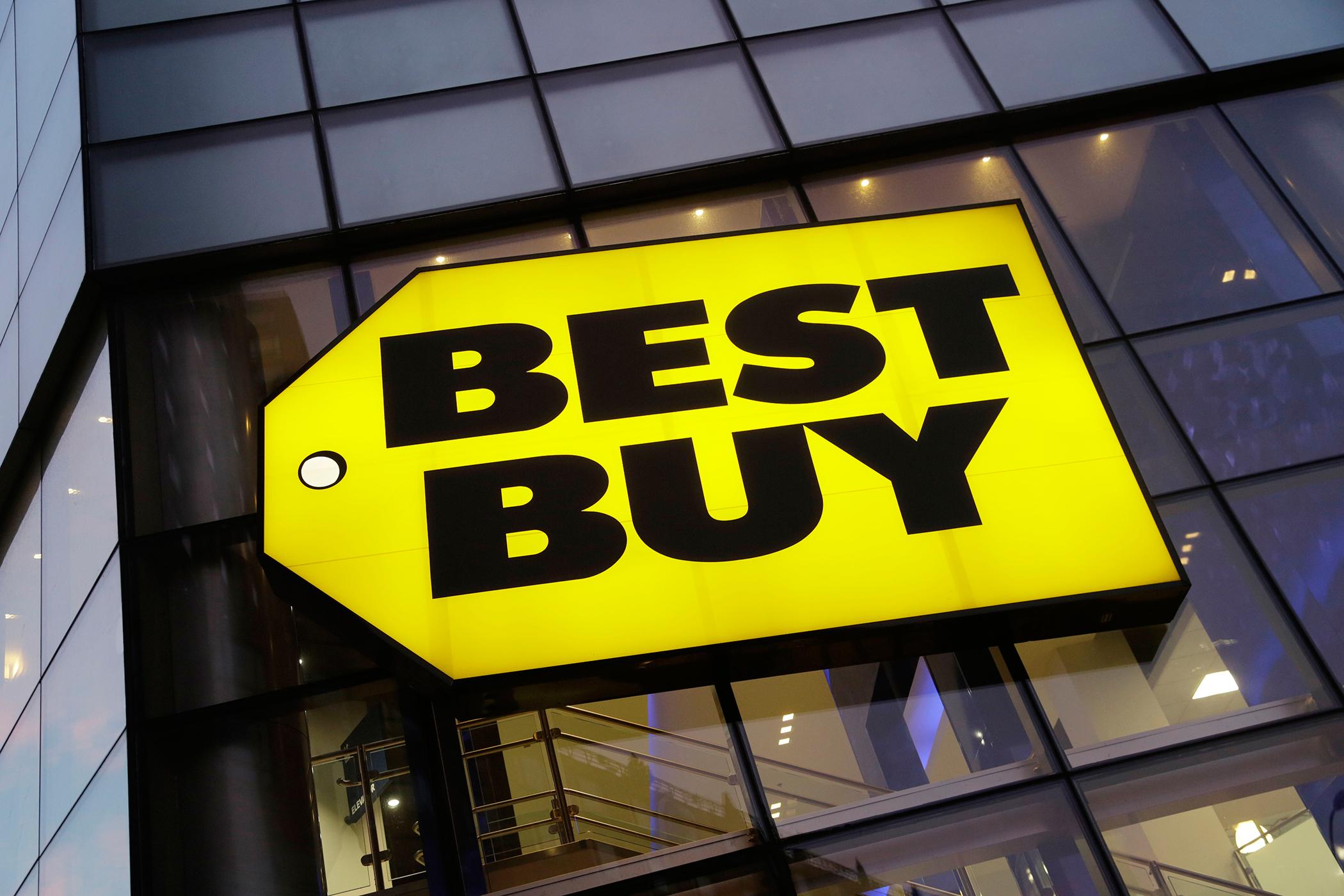 Best Buy sign