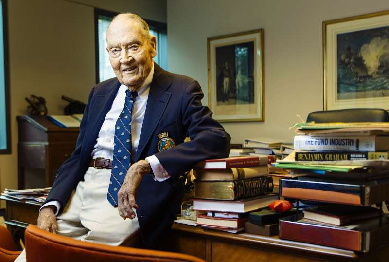 John C. Bogle launched a new kind of fund in 1976. Instead of having a manager pick stocks, it replicated the S&P 500 at low cost.