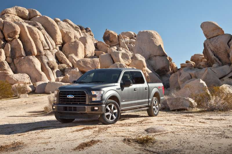 The 2015 Ford F-150