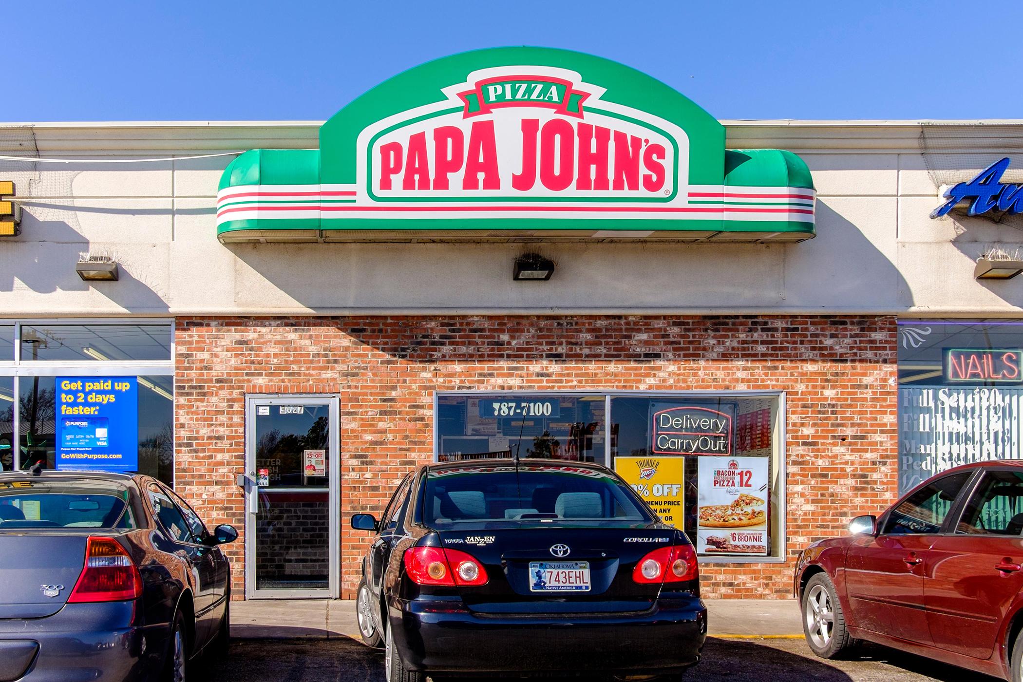 Papa John's Pizza in Oklahoma City, Oklahoma